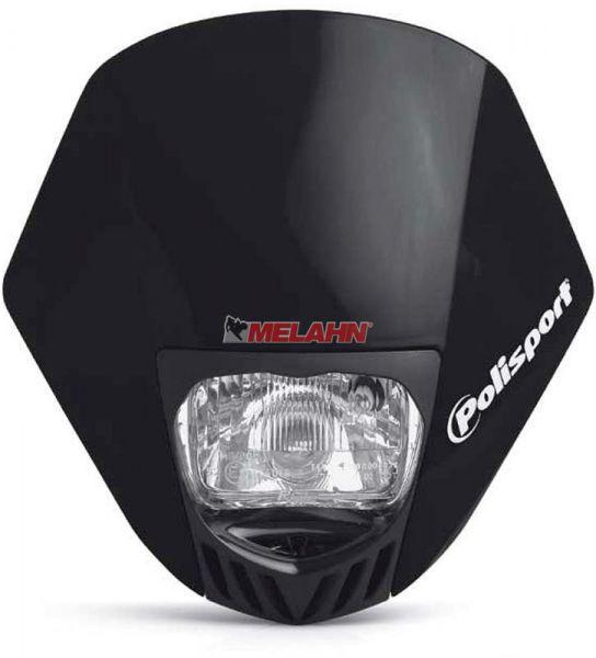 POLISPORT Lampe: HMX, schwarz