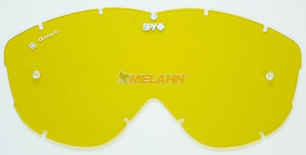 SPY Ersatzglas Alloy/Targa MX mit Pins, gelb