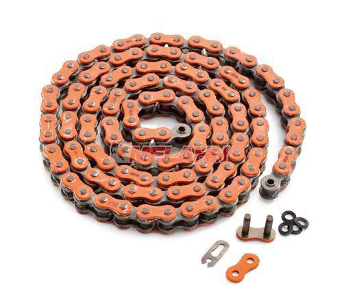 KTM Kette XW-Ring 520 orange, 118 Glieder