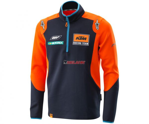 KTM Zip-Pullover Replica Team, blau/orange
