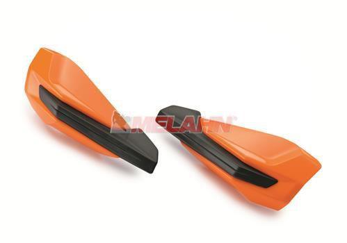 KTM Ersatz-Plastikschalen (Paar) für Handschutz 79602979000EB, orange 2016