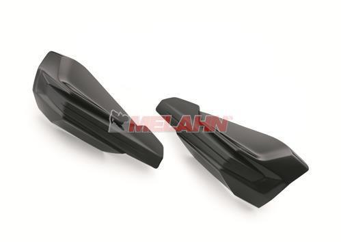 KTM Ersatz-Plastikschalen (Paar) für Handschutz 7960297900030, schwarz
