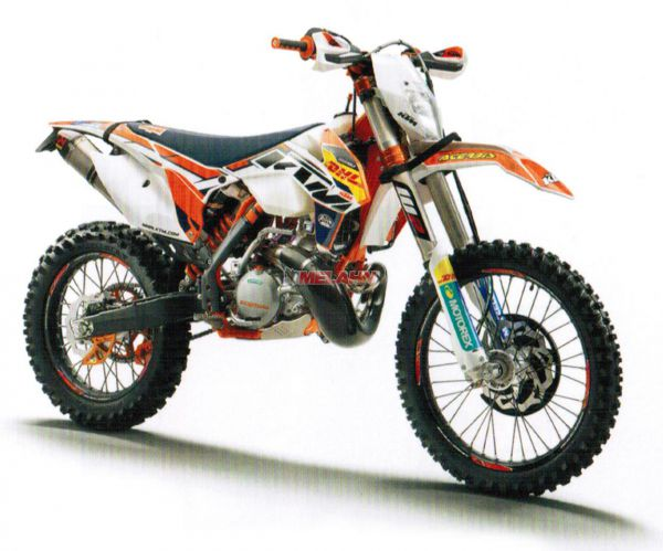 KTM Dekor-Kit Factory Enduro 2016, EXC 14-16