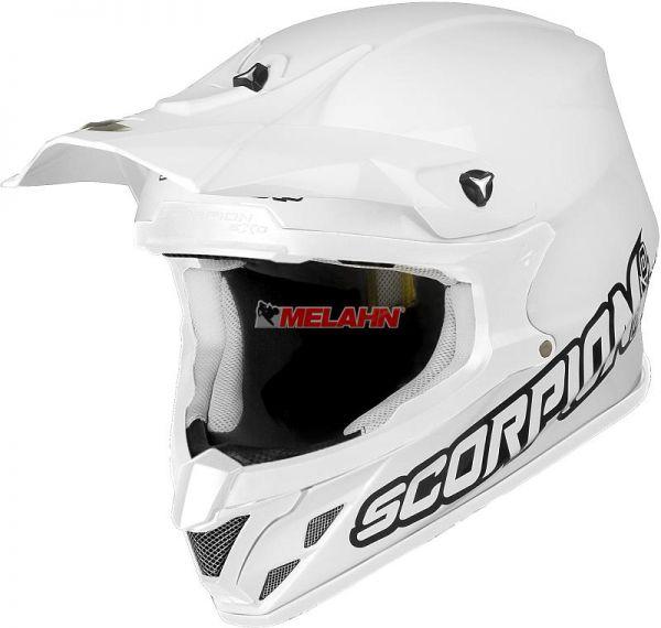 SCORPION Helm: VX-20 Air Solid, weiß