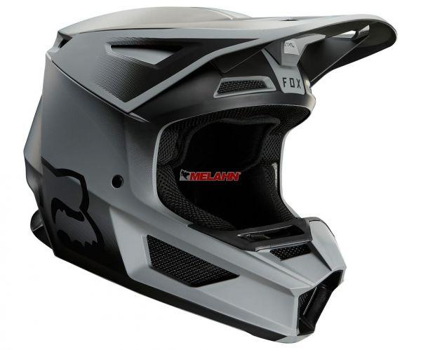 FOX Helm: V2 Vlar, matt schwarz