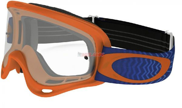 OAKLEY Brille: O Frame, orange/blau