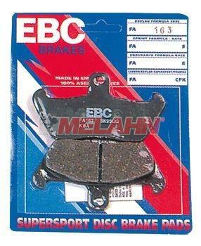 EBC Bremsbeläge, Semi-Metall, vorne, YZ/YZF 125-450 07-