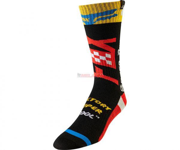 FOX Kids MX Sock Czar, schwarz/gelb