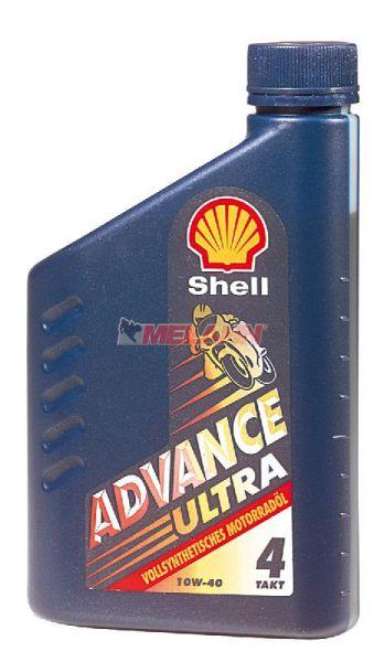 SHELL Advance Ultra 1 Liter, 10W-40 vollsynthetisch