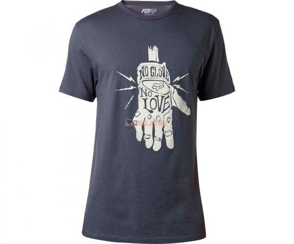 FOX T-Shirt: Lifer, heatherschwarz