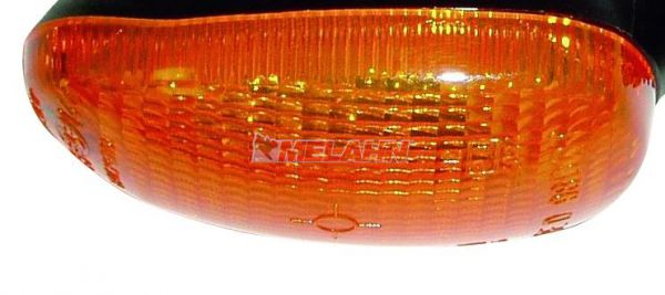 KTM Blinkerkappe oval, orange, 99-03