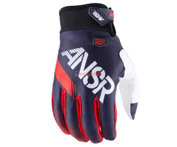 ANSWER Handschuh: Syncron, weiss/rot