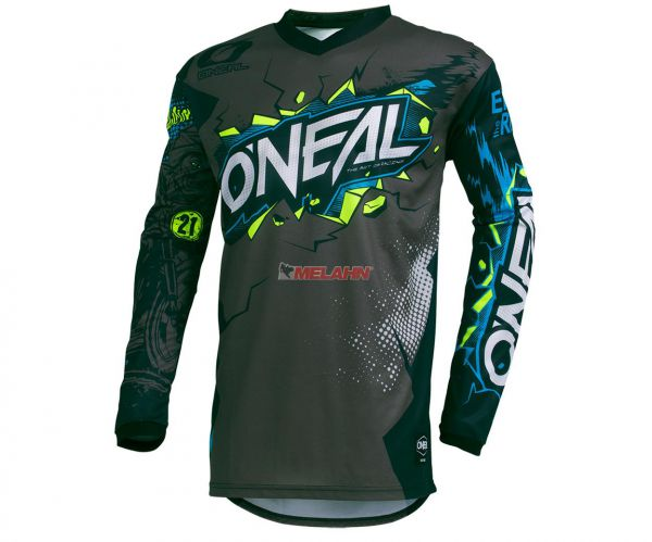 ONEAL Jersey: Element Villain, grau/multi