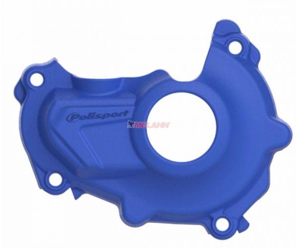 POLISPORT Zündungsdeckelschutz YZF 450 14-17, blau