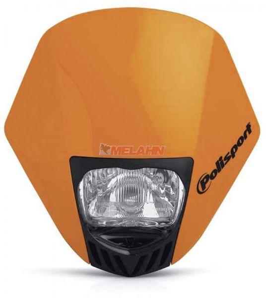 POLISPORT Lampe: HMX, orange