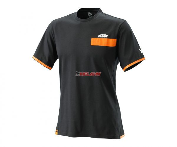 KTM T-Shirt: Pure Style, schwarz/orange