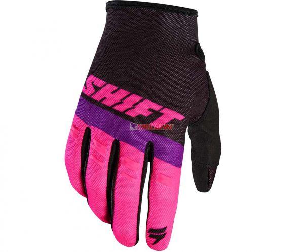 SHIFT Handschuh: Whit3 Air, schwarz/pink