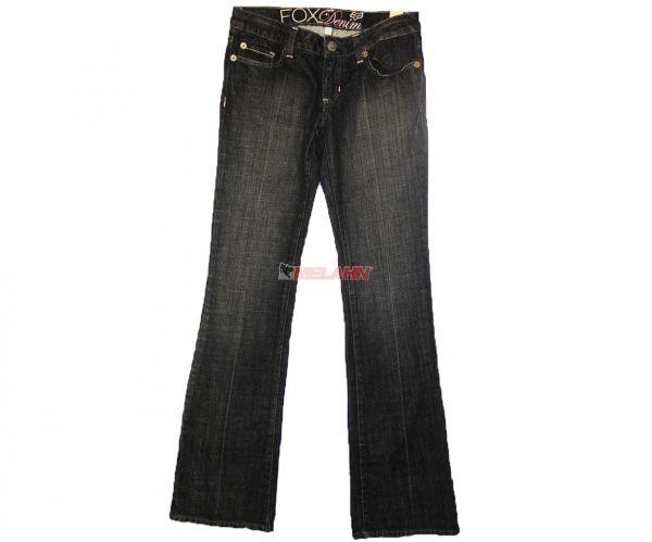 FOX Girls Jeans: Bril, schwarz, Gr. 3/36