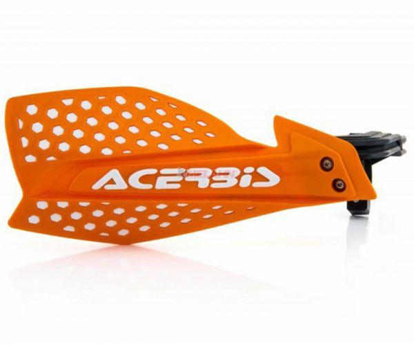 ACERBIS Handprotektor (Paar): X-Ultimate, orange/weiß