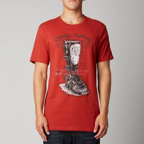 FOX Premium T-Shirt: Eureka,, rot