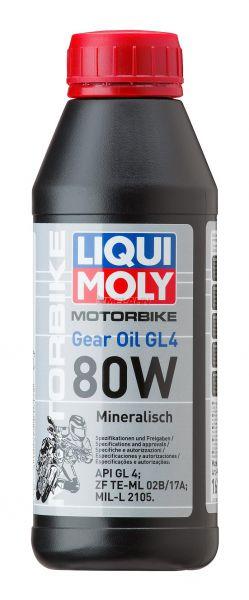 LIQUI MOLY Getriebeöl: Motorbike Gear Oil 80W, 500 ml