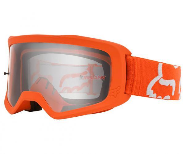 FOX Brille: Main II Race, orange