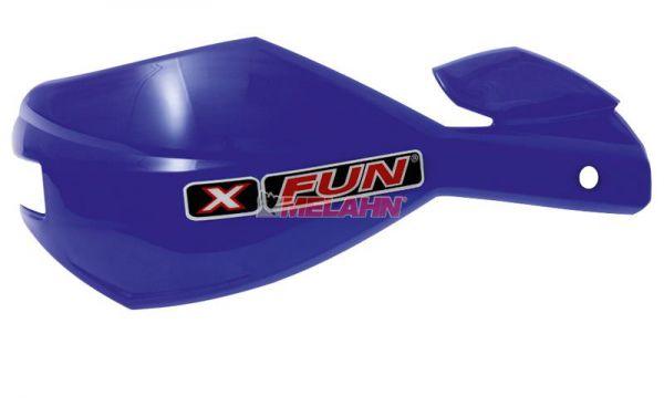 X-FUN Ersatzschale: Handprotektor Alu, YZblau