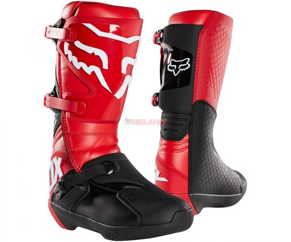 FOX Stiefel: Comp , rot