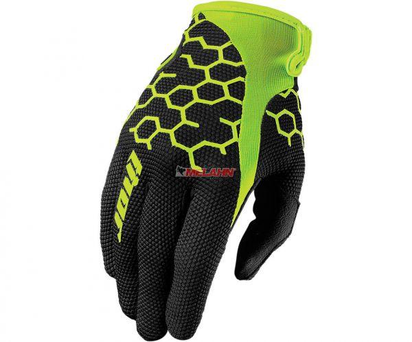 THOR Handschuh: Draft, schwarz/gelb