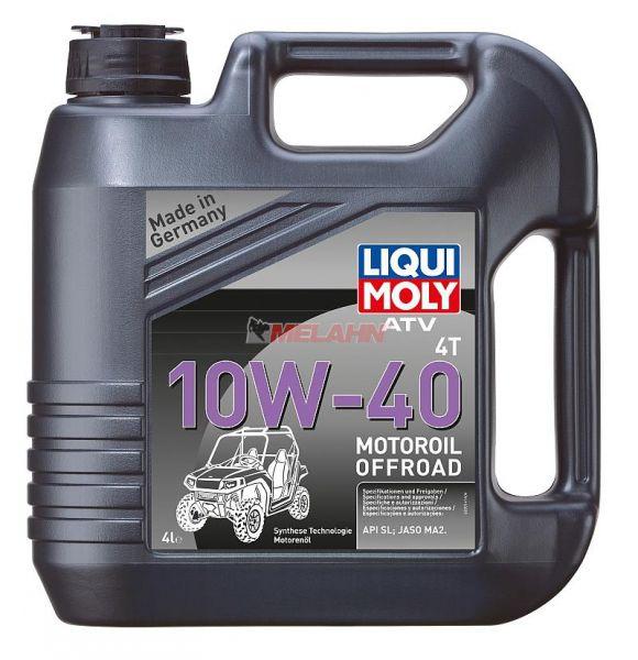 LIQUI MOLY Motoröl: ATV 4T 10W-40, 4l