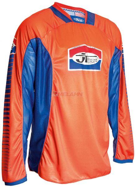 JT-RACING Hemd: Pro Tour, orange/blau