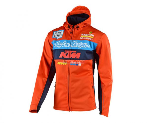 TROY LEE DESIGNS Pit Jacke: KTM Team, orange