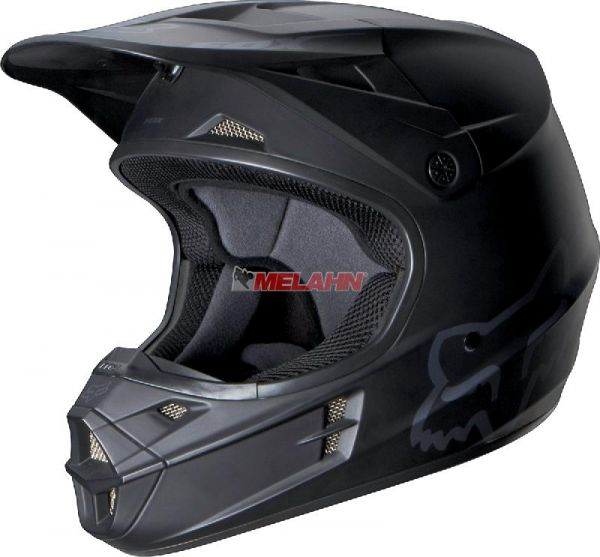 FOX Helm: V1, matt-schwarz