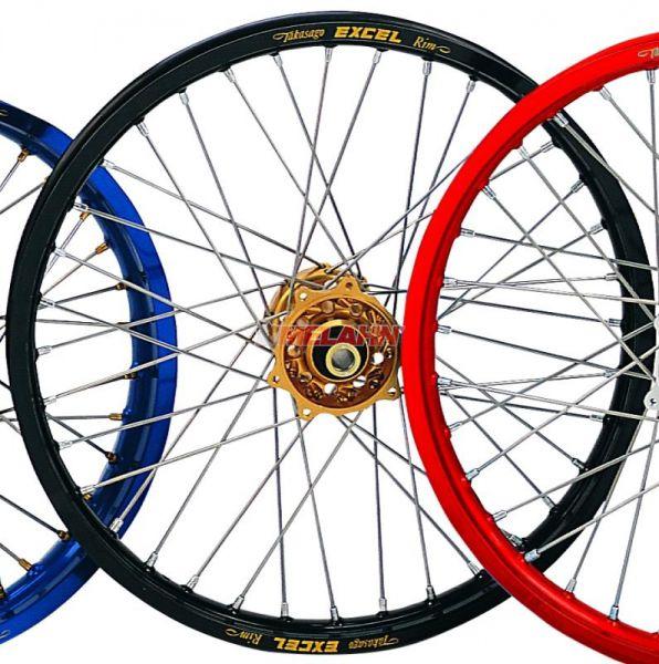EXCEL Komplett-Rad 2,50x18 Zoll, schwarz