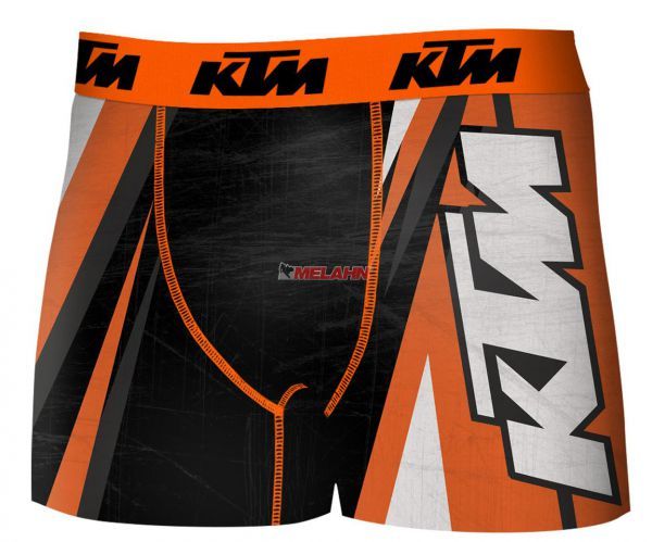 FREEGUN KTM Boxershorts: Freegun, schwarz/orange/weiss