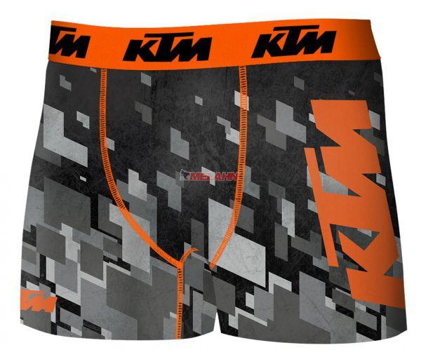 FREEGUN KTM Boxershorts: Freegun, grau/orange