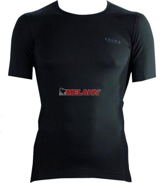FALKE T-Shirt: Athletic light, schwarz