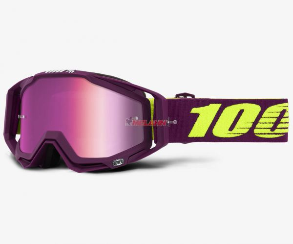 100% Brille: Racecraft Klepto, purple/pink