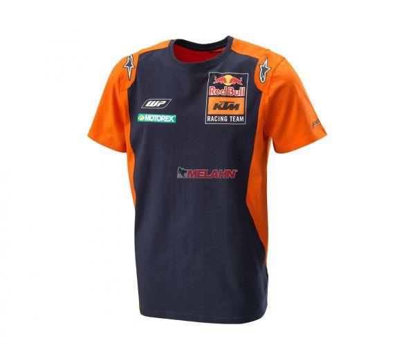 KTM RED BULL T-Shirt: Replica Team, blau/orange