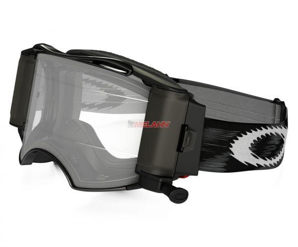 OAKLEY Brille: Airbrake MX Roll-Off (50mm), schwarz