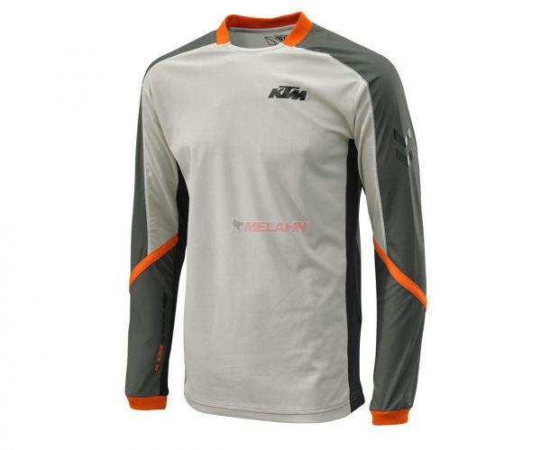 KTM Jersey: Defender, grau/orange