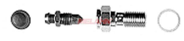 MAGURA Hohlschraube Hymec M10x1 mit Entlüfter und Gummikappe