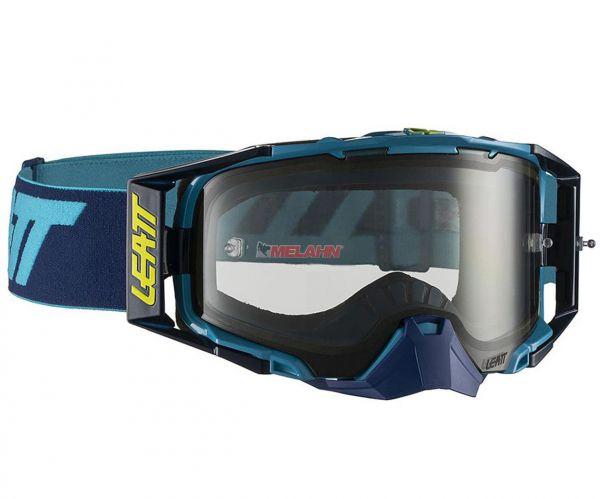 LEATT Brille: VELOCITY 6.5, ink/blau