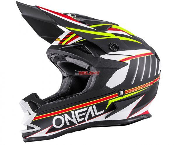 ONEAL Helm: 7Series, Chaser, schwarz/gelb