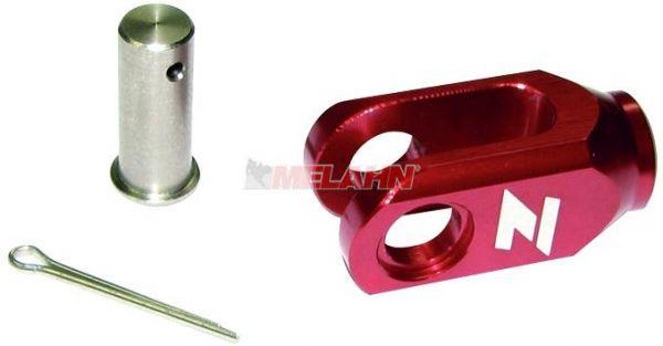 ZAP Aluminium-Einsteller Hinterradbremse CR/CRF 6mm, rot