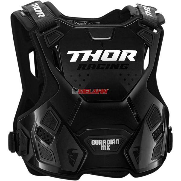 THOR Brustpanzer: Guardian MX, schwarz