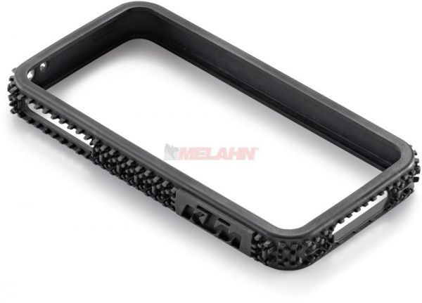 KTM iPhone Case 4/4S: Offroad Bumper, schwarz