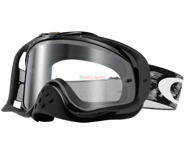 OAKLEY Brille: Crowbar, Enduro inkl. Doppelglas, schwarz