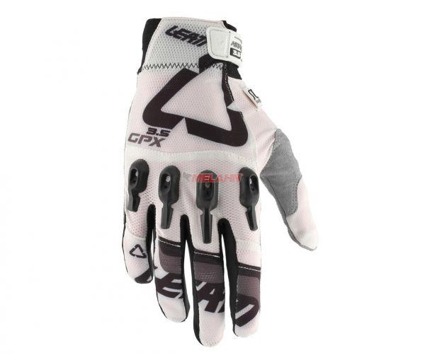 LEATT Handschuh: GPX 3.5 X-Flow, weiß