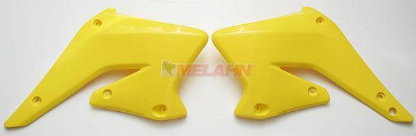 UFO Spoiler (Paar), Kühlerverkleidung RMZ 250 04-06, gelb2001